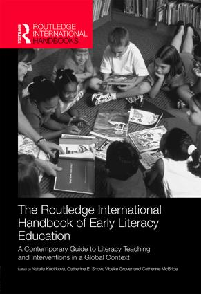 The Routledge International Handbook of Early Literacy Education: A Contemporary Guide to Literacy Teaching and Interventions in a Global Context book cover