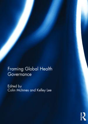 Framing Global Health Governance book cover