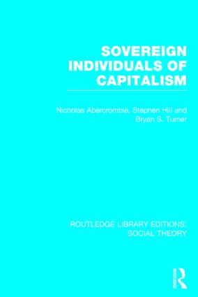 Sovereign Individuals of Capitalism book cover