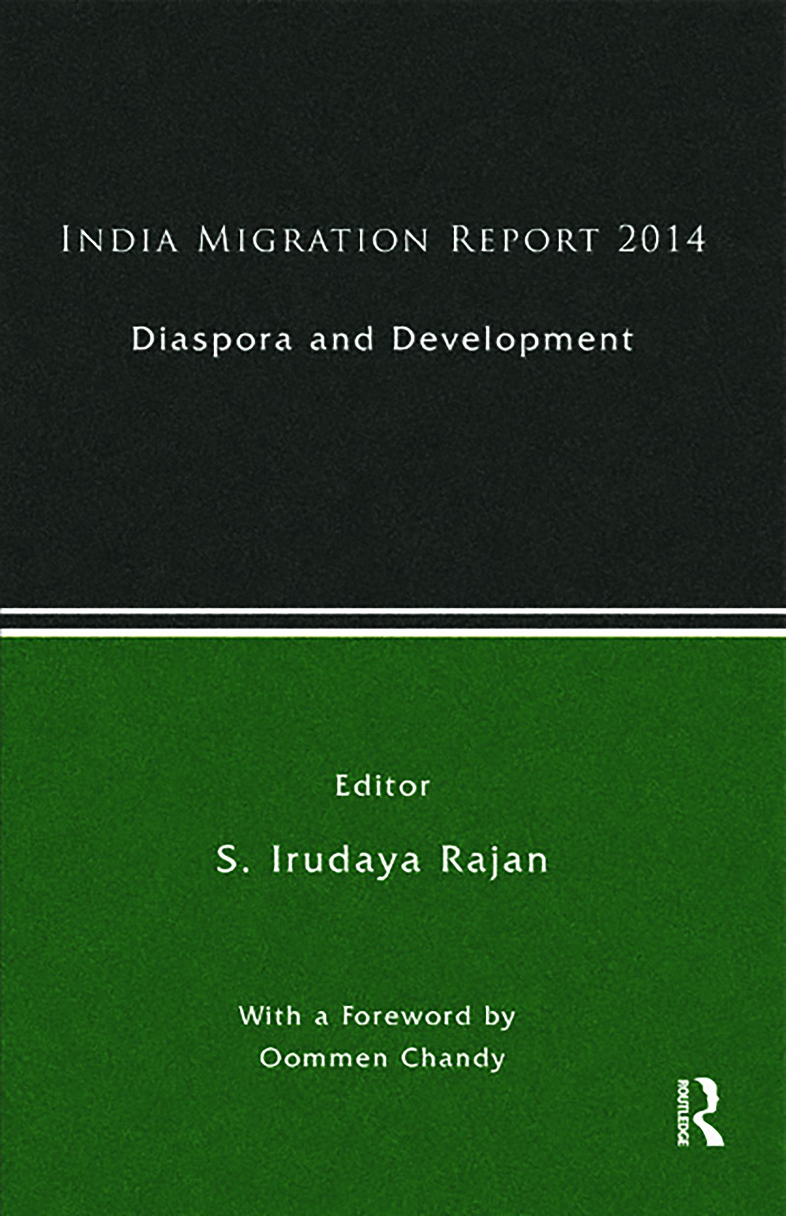 India Migration Report 2014: Diaspora and Development, 1st Edition (Hardback) book cover