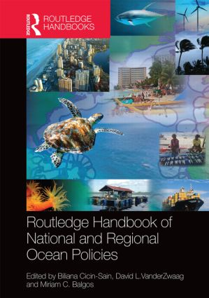 Routledge Handbook of National and Regional Ocean Policies: 1st Edition (Hardback) book cover