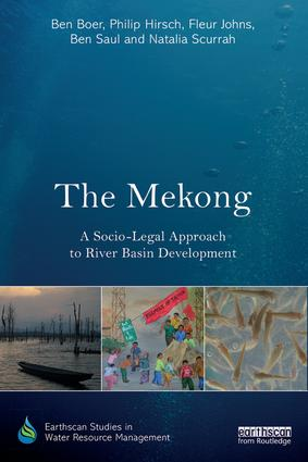 The Mekong: A Socio-legal Approach to River Basin Development book cover