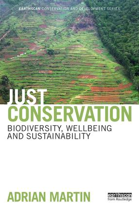 Just Conservation: Biodiversity, Wellbeing and Sustainability book cover