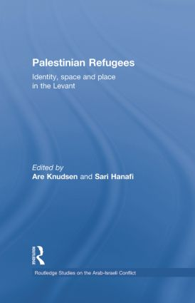 Palestinian Refugees: Identity, Space and Place in the Levant, 1st Edition (Paperback) book cover