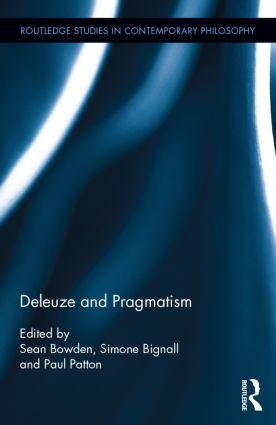 Deleuze and Pragmatism book cover