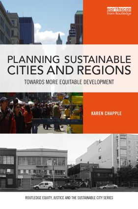 Planning Sustainable Cities and Regions: Towards More Equitable Development (Hardback) book cover