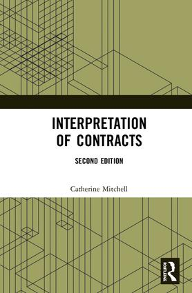 Interpretation of Contracts book cover
