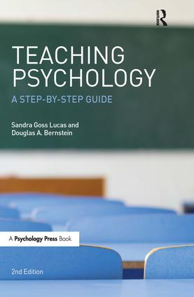 Teaching Psychology: A Step-By-Step Guide, Second Edition book cover