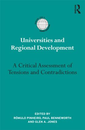 Universities and Regional Development: A Critical Assessment of Tensions and Contradictions (Paperback) book cover