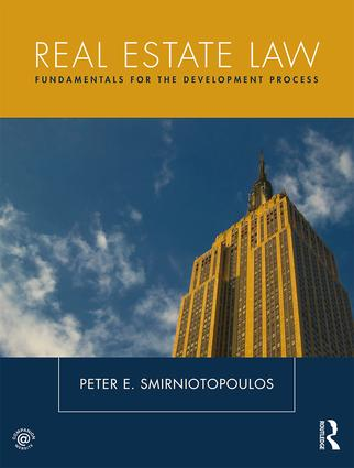 Real Estate Law: Fundamentals for The Development Process book cover