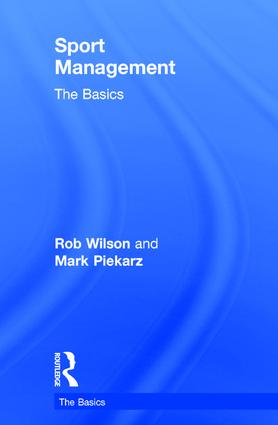 Sport Management: The Basics book cover