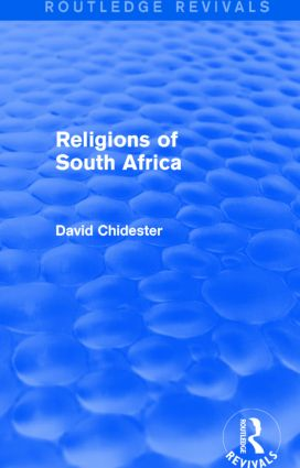 Religions of South Africa (Routledge Revivals): 1st Edition (Hardback) book cover