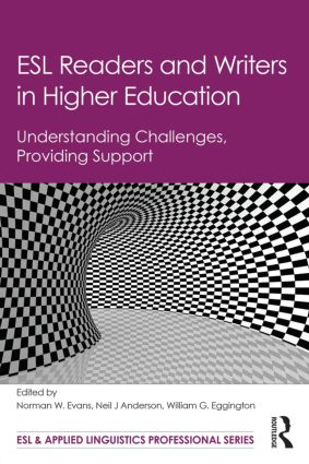 ESL Readers and Writers in Higher Education: Understanding Challenges, Providing Support book cover
