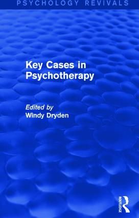 Key Cases in Psychotherapy: 1st Edition (Paperback) book cover