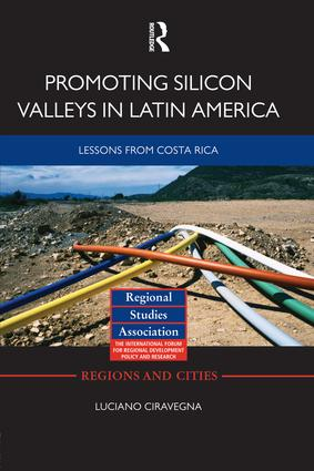 Promoting Silicon Valleys in Latin America: Lessons from Costa Rica (Paperback) book cover