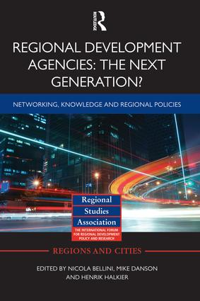 Regional Development Agencies: The Next Generation?: Networking, Knowledge and Regional Policies (Paperback) book cover