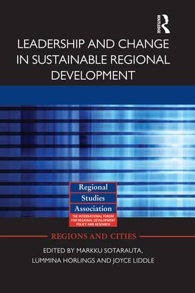 Leadership and Change in Sustainable Regional Development (Paperback) book cover