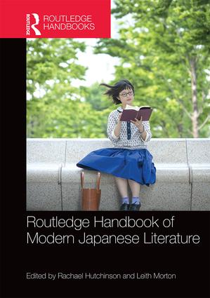 Routledge Handbook of Modern Japanese Literature (Hardback) book cover