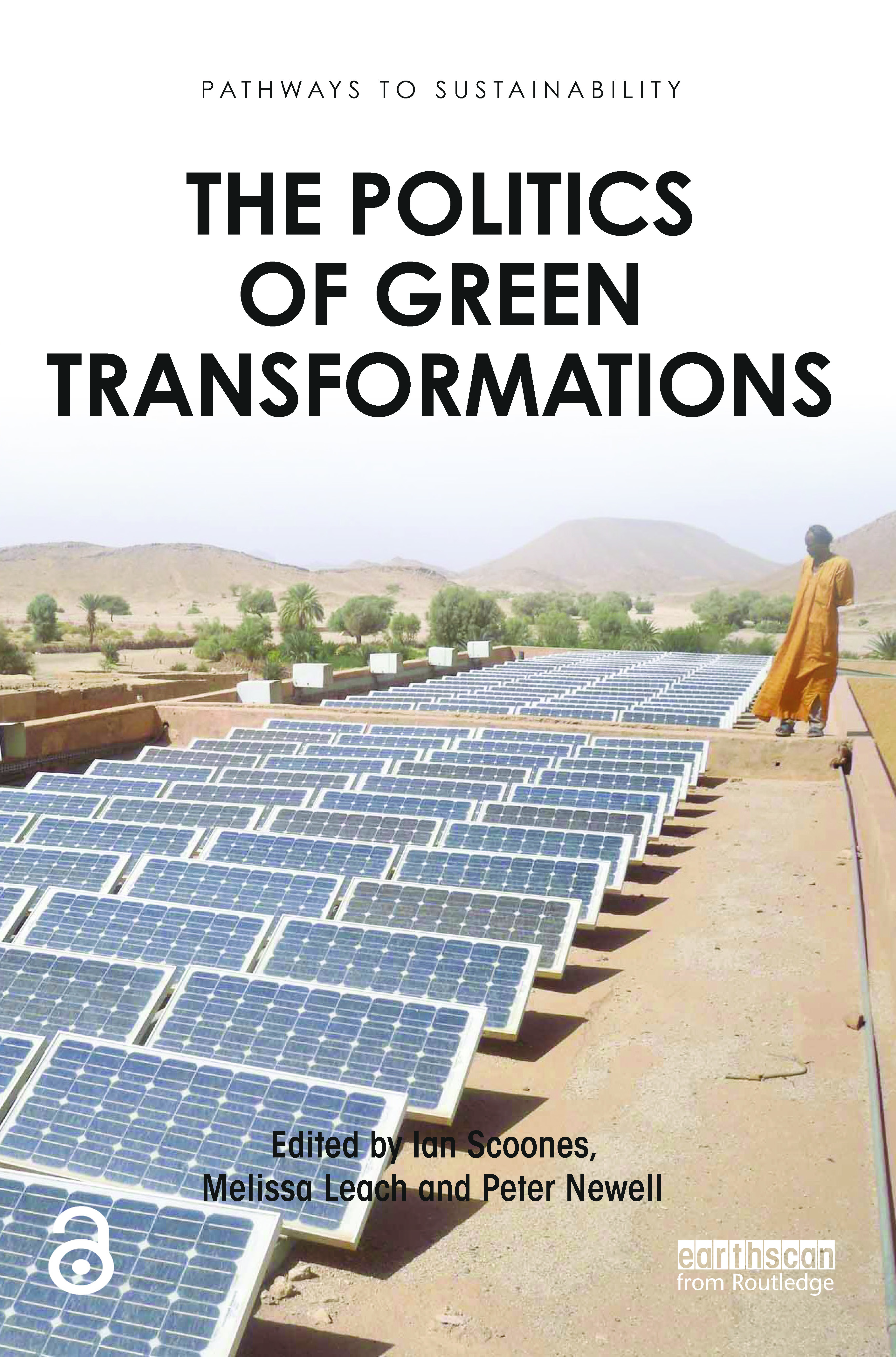 The Politics of Green Transformations (Paperback) book cover