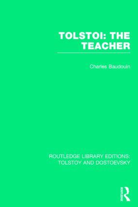 Tolstoi: The Teacher book cover