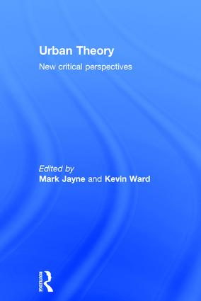 Urban Theory: New critical perspectives, 1st Edition (Hardback) book cover