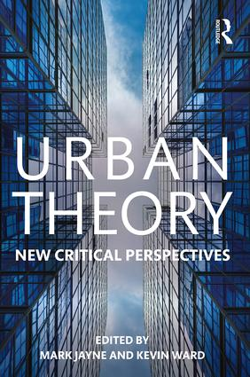 Urban Theory: New critical perspectives (Paperback) book cover