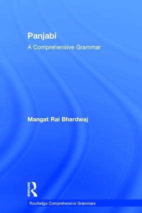 Panjabi: A Comprehensive Grammar book cover
