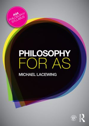 Philosophy for AS: Epistemology and Philosophy of Religion book cover