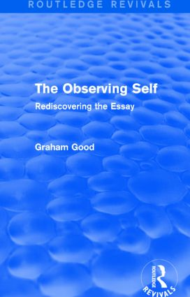 The Observing Self (Routledge Revivals)