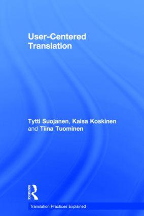 User-Centered Translation  9781138795495