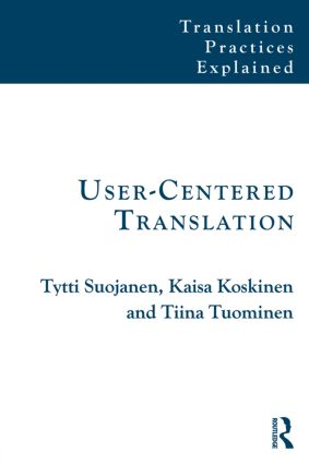 User-Centered Translation: 1st Edition (e-Book) book cover
