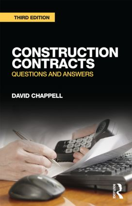 Construction Contracts: Questions and Answers, 3rd Edition (Paperback) book cover