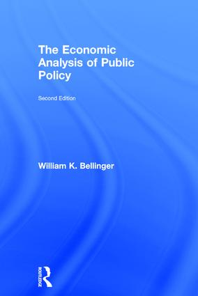 The Economic Analysis of Public Policy: 2nd Edition (Hardback) book cover