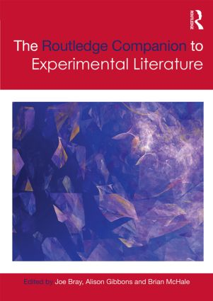 The Routledge Companion to Experimental Literature book cover