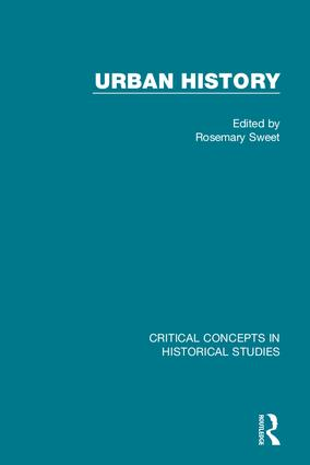 Urban History: 1st Edition (Hardback) book cover
