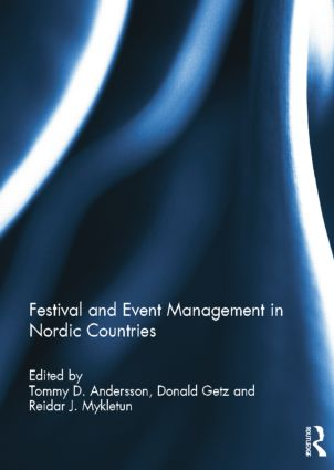 Festival and Event Management in Nordic Countries: 1st Edition (Paperback) book cover