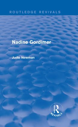 Nadine Gordimer (Routledge Revivals) (Hardback) book cover