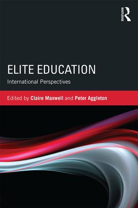 Elite Education: International perspectives, 1st Edition (Paperback) book cover