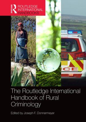 The Routledge International Handbook of Rural Criminology book cover