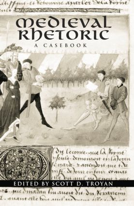 Medieval Rhetoric: A Casebook, 1st Edition (Paperback) book cover