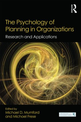 The Psychology of Planning in Organizations: Research and Applications book cover