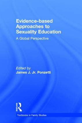 Evidence-based Approaches to Sexuality Education: A Global Perspective book cover