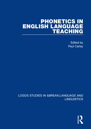 Phonetics in English Language Teaching book cover