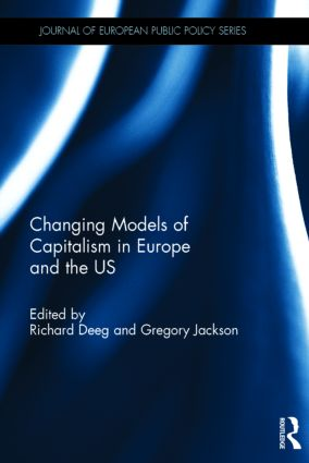 Changing Models of Capitalism in Europe and the U.S.: 1st Edition (Hardback) book cover