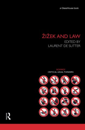 Zizek and Law: 1st Edition (Hardback) book cover