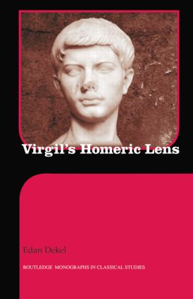 Virgil's Homeric Lens book cover