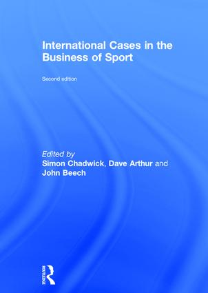 International Cases in the Business of Sport book cover