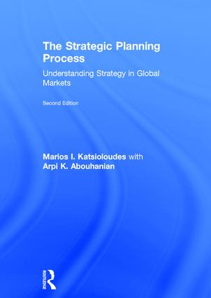 The Strategic Planning Process: Understanding Strategy in Global Markets, 2nd Edition (Hardback) book cover