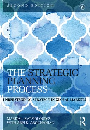 The Strategic Planning Process: Understanding Strategy in Global Markets, 2nd Edition (Paperback) book cover