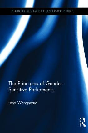 The Principles of Gender-Sensitive Parliaments book cover